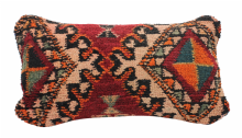 "Moroccan Vintage Rug Carpet Cushion COVER  Wool 60cm x 30 cm / 24""x 12'' (RC5)"